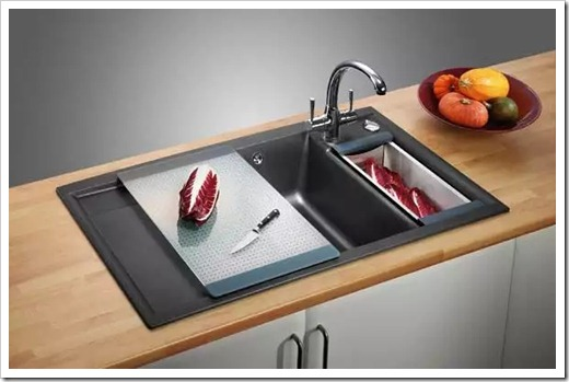 Натуральный камень, как материал для кухонной мойки