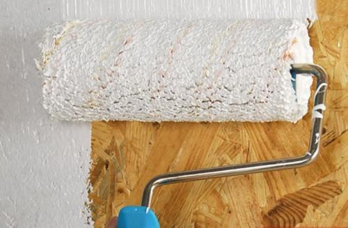 Чем покрасить ОСБ плиту внутри дома