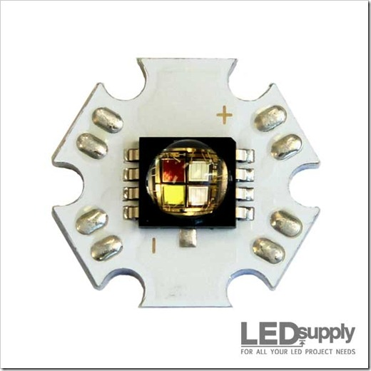 Однокристальные и многокристальные светодиоды