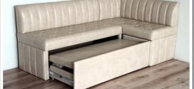 Уголок со спальным местом в кухню: достоинства, особенности выбора механизма раскладывания, материала корпуса и виды обивочных материалов