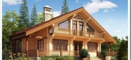 Почему все больше людей предпочитают строить дома из клееного бруса?