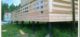 Как дешево построить дом из бруса?