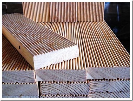 Сырьё, используемое для производства палубной доски