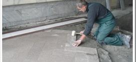 Как укладывать гранитную плитку?
