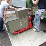 Как перевозят сейфы