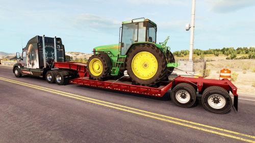 На чем перевозят тракторы
