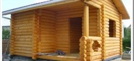 Выбор материала для бани при строительстве дачи.