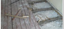 Как демонтировать старый деревянный пол без лишних затрат?