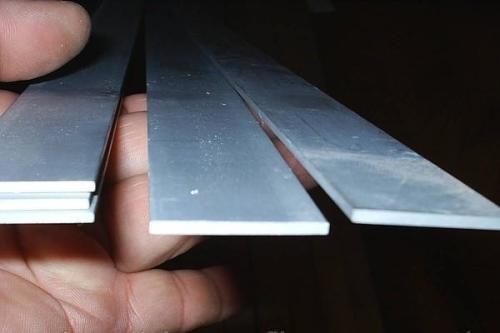 Что можно сделать из алюминиевой полосы
