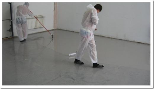 Как заливать полимерный пол?