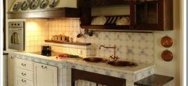 Как красиво оформить кухню в стиле ретро?