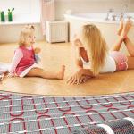 В каких комнатах лучше делать теплый пол