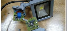 Как подключить светодиодный прожектор?