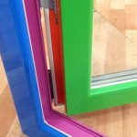 Чем можно покрасить пластиковые окна