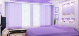 Как выбрать натяжной потолок для спальни