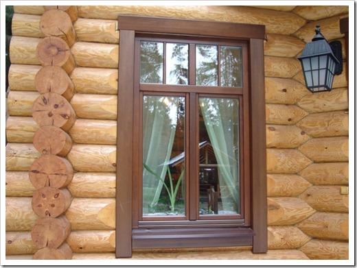 Имеет ли смысл в деревянном доме устанавливать деревянные окна?