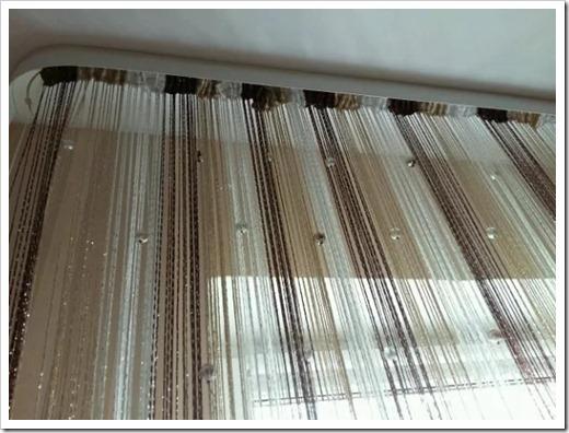 Методика развешивания штор-нитей