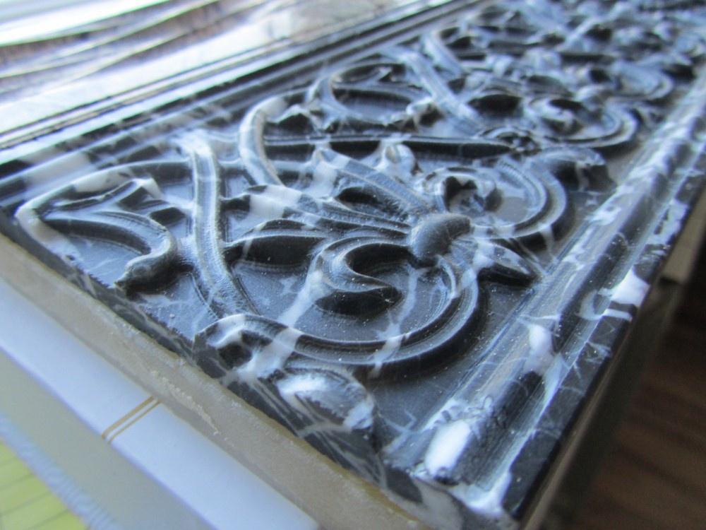 Как делают фрезеровку камня