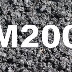 Бетон М200: технические характеристики
