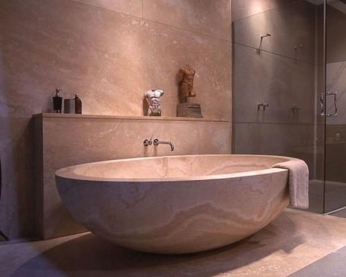 Сколько весит ванна из искусственного камня