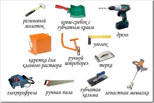Какие инструменты нужны для кладки газоблока?