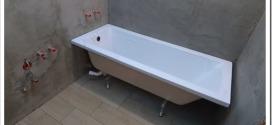Установка ванны – быстро и без хлопот