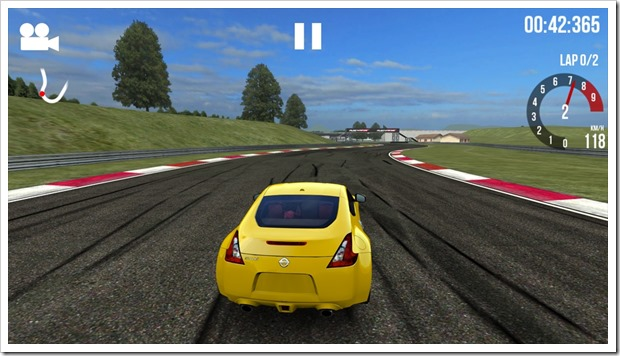 Обзор Андроид игры Assoluto Racing