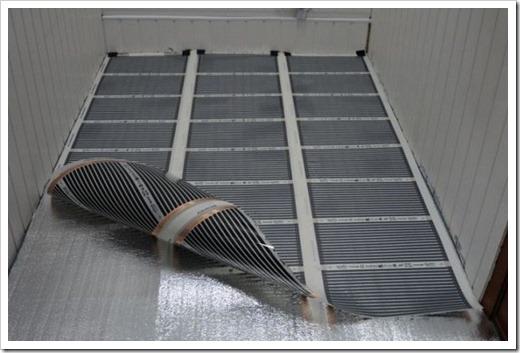 Новые технологии: плёночный теплый пол
