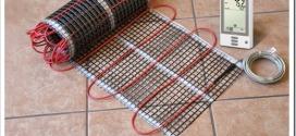 Как выбрать электрический теплый пол под плитку?
