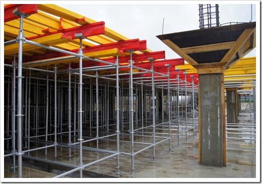 Существующие виды строительной опалубки для организации перекрытий
