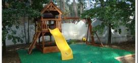 Как сделать резиновое напольное EPDM покрытие на детской площадке