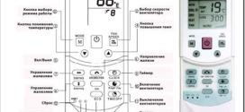 Как пользоваться пультом от кондиционера