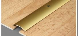 Как крепить алюминиевые пороги на линолеум