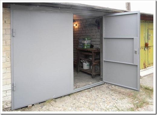 Какие есть виды гаражных ворот