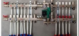 Выбор комплектующих для водяного теплого пола: виды и назначение