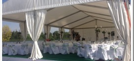Виды мобильных шатров для мероприятия