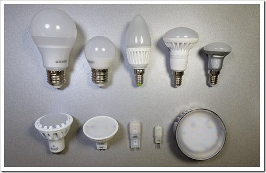 Критерии, по которым следует выбирать светодиодные лампы