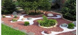 Гравийное покрытие в ландшафтном дизайне