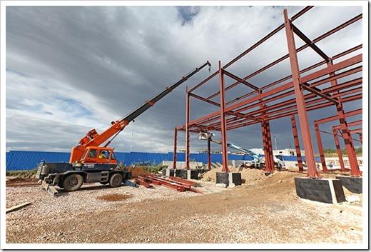 Этапы возведения зданий из металлоконструкций