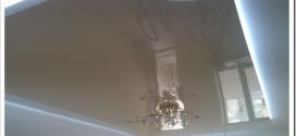 Как делают парящий натяжной потолок