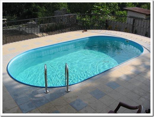 Каталог бассейнов для установки на улице
