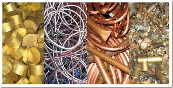 Что относится к цветному металлолому