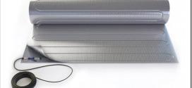 Алюминиевый мат для обустройства теплого пола под ламинат