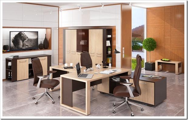 Какую мебель выбрать в кабинет руководителя