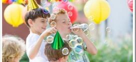 Как интересно провести детский День рождения