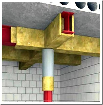 Что такое конструктивная огнезащита конструкций из дерева и металла.