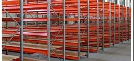 Виды и назначение складских металлических стеллажей