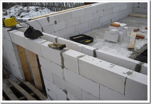 Технические особенности газобетонных блоков