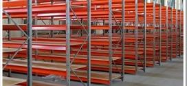 Виды складских металлических стеллажей