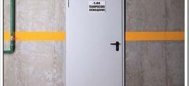 Характеристики и применение противопожарных дверей EI30